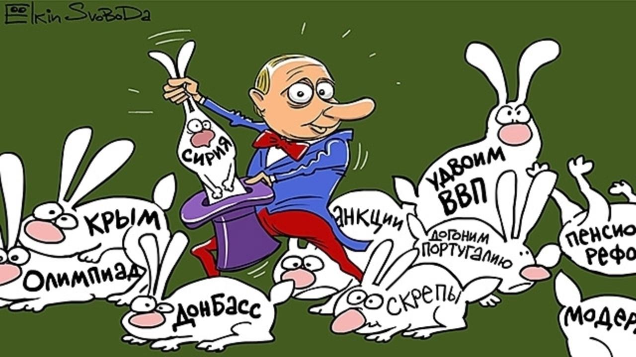 Внешняя политика РФ: Не до жиру, быть бы живу